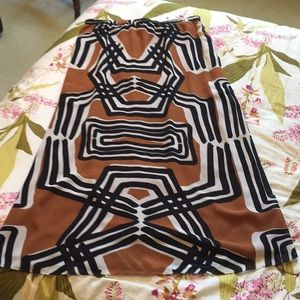 Cool print skirt from Coldwater Creek